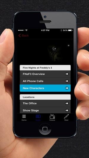 Screenshot Guide for FNAF3 on iPhone