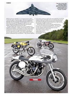 Screenshot Classic Bike Magazine on iPad