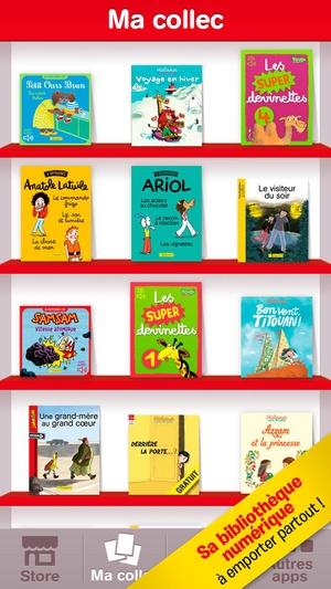 Screenshot J'aime lire Store, application enfant pour lire et apprendre à lire on iPhone