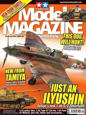 Screenshot Tamiya Model Magazine International on iPad