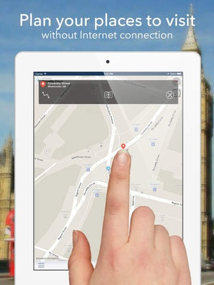 Screenshot Kiev Offline Map + City Guide Navigator, Attractions and Transports on iPad
