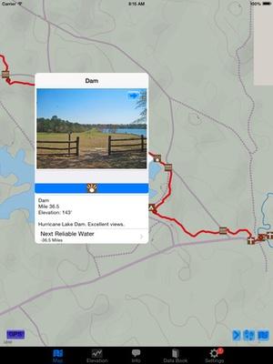 Screenshot The Florida Trail Guide on iPad