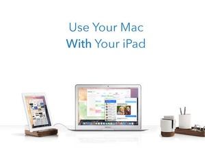 Screenshot Duet Display on iPad