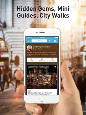 Screenshot Greece Travel Guide by Triposo featuring Athens, Thessaloniki and much more! on iPad