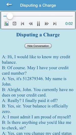 Screenshot English Conversation For Intermediate Learner on iPhone