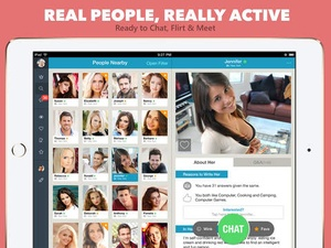 Screenshot Adult Dating: Chat, Flirt and Meet Hot Single Women and Men on iPad
