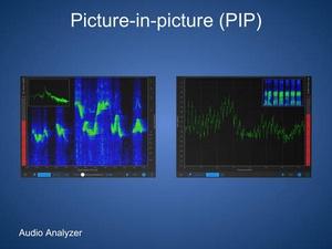Screenshot Audio Analyzer on iPad