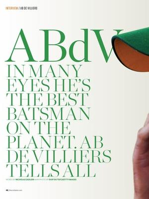 Screenshot The Cricketer Magazine on iPad
