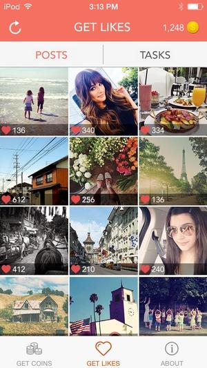 Screenshot Morelikes on iPhone