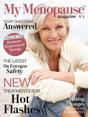 Screenshot My Menopause Magazine on iPad