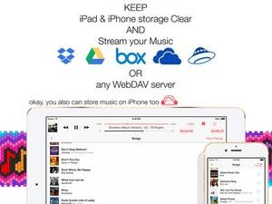 Screenshot Eddy Cloud Music Pro on iPad