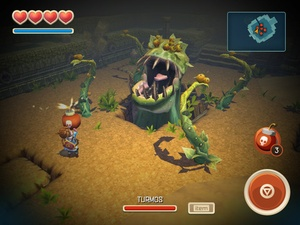 Screenshot Oceanhorn ™ on iPad