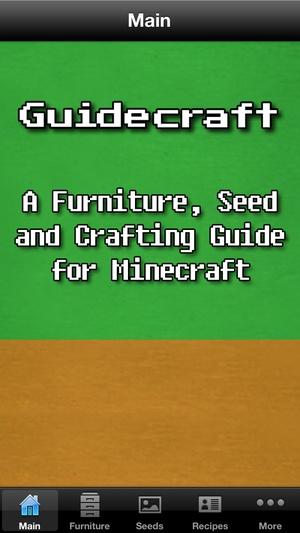 Screenshot Guidecraft on iPhone