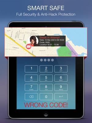 Screenshot Smart Safe Pro on iPad