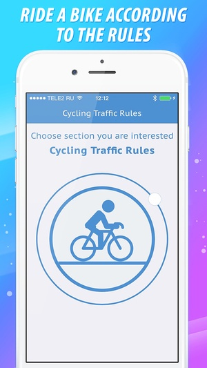 Screenshot Cycling Traffic Rules on iPhone