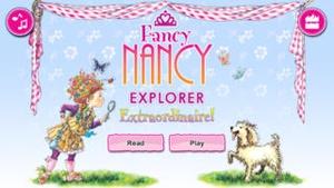Screenshot Fancy Nancy Explorer Extraordinaire on iPhone