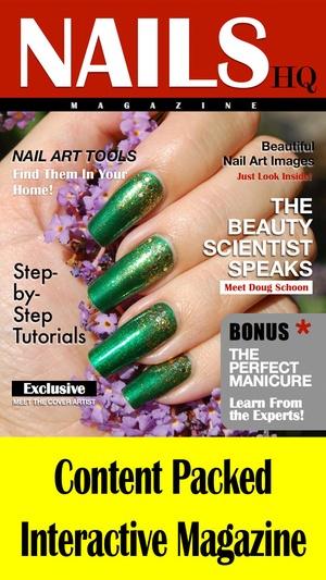 Screenshot NAILS HQ Magazine on iPhone