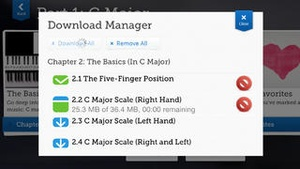 Screenshot Learn Piano HD on iPhone