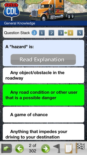 Screenshot Driving on iPhone
