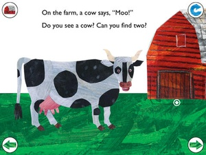 Screenshot Eric Carle's On the Farm: Animal Sounds and More on iPad