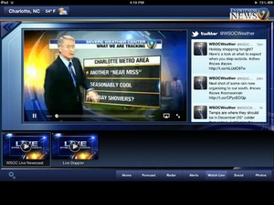 Screenshot WSOC on iPad