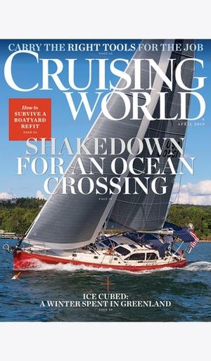 Screenshot Cruising World Mag on iPhone