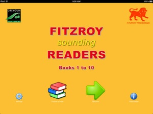 Screenshot Fitzroy Readers Books 1 to 10 on iPad
