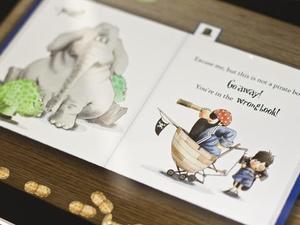 Screenshot The Wrong Book on iPad