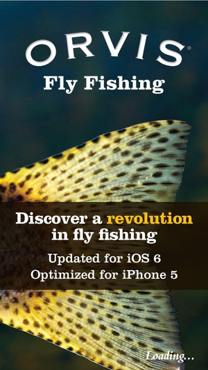 Screenshot Orvis Fly Fishing – The Ultimate Fly on iPhone