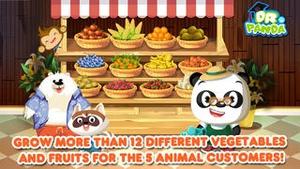 Screenshot Dr. Panda's Veggie Garden on iPhone