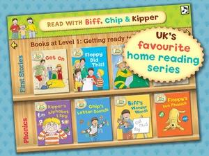 Screenshot Read with Biff, Chip & Kipper: Library on iPad