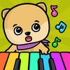 Baby piano with animal sounds for toddlers and kids