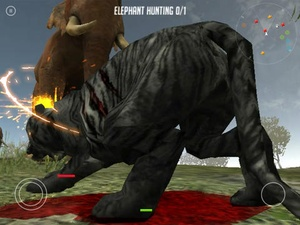 Screenshot Life Of Black Tiger on iPad