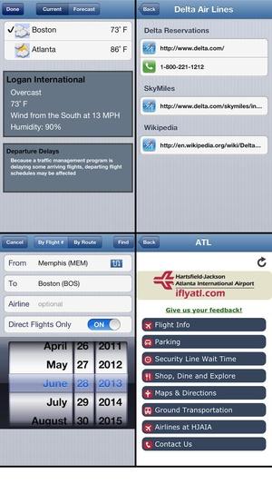Screenshot Flight Update Pro on iPhone