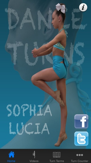 Screenshot Basic Dance Turns with Sophia Lucia on iPhone