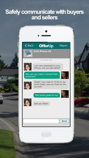 Screenshot OfferUp - Buy. Sell. Simple. on iPhone