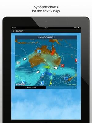 Screenshot Weatherzone Plus on iPad