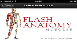 Screenshot Flash Anatomy Muscles on iPhone
