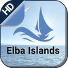 Elba Islands offline nautical charts for boating cruising and fishing