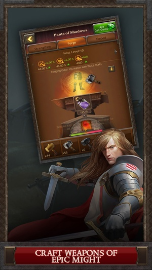 Screenshot Kingdoms of Camelot: Battle for the North ® on iPhone