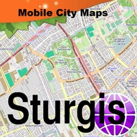 Rapid City, Sturgis, Mt Rushmore, SD Street Map