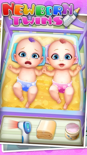 Screenshot Newborn Twins Baby Care on iPhone