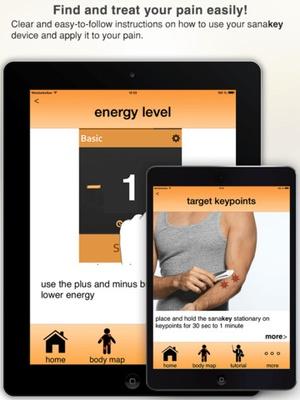 Screenshot sanakey: the key to your body on iPad