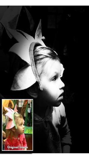 Screenshot Noir Photo on iPhone