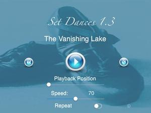 Screenshot Set Dances on iPad