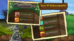 Screenshot Plants vs. Zombies on iPhone
