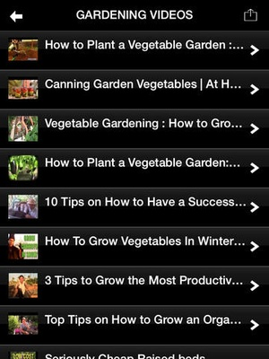 Screenshot Gardening Tips: Learn How To Plant A Garden on iPad