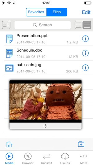 Screenshot Free Video Collect Plus For iOS8 on iPhone