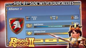 Screenshot Royal Revolt 2 on iPhone