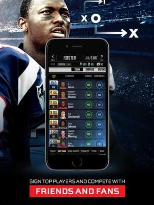 Screenshot NFL Showdown: Football Manager on iPad